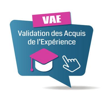 Logo validation des acquis de l'expérience.