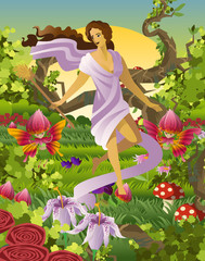 ostara spring pagan germanic goddess