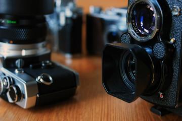 Film vintage cameras