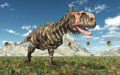 Dinosaur Rajasaurus