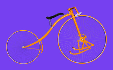 Treadle bicycle
