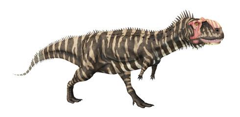 Dinosaurier Rajasaurus, Freisteller
