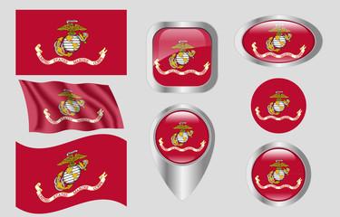 Flag of  United States Marine Corps