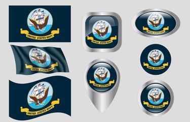 Flag of United States Navy