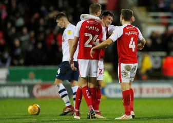 Championship - Rotherham United v Preston North End