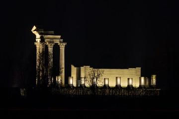Römischer Temple im APX