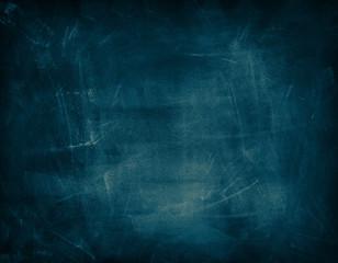 Photo sur Toile Les Textures Blue chalkboard background