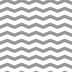 Seamless chevron pattern gray and white. Design for wallpaper, fabric, textile, wrapping. Simple background