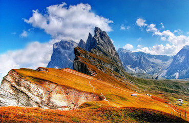mountain landscape with most high mountains - HD