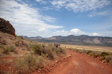 Stay on the Desert Road, Northern Arizona