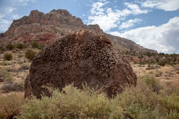 Eroded Boulder, Northern Arizona