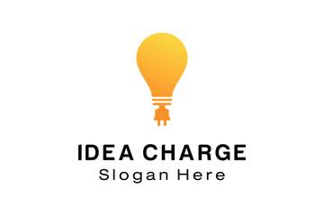 IDEA CHARGE LOGO DESIGN