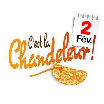 C'est la Chandeleur / 2 février