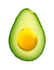 Avocado with avocado oil