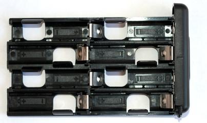 cargador de pilas doble aa