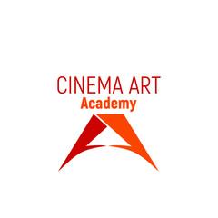 Vector emblem for cinema academy