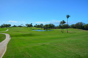 Golf in Maui, Hawaiian Islands