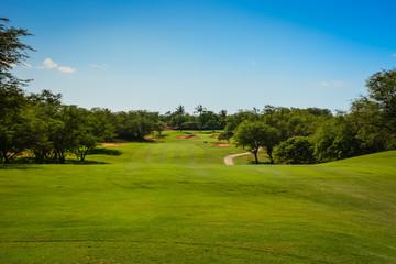 Golf in Maui, Hawaiian Islands