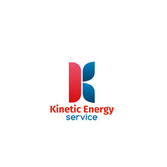 Kinetic energy service sign