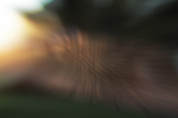Abstract colored lines background and blurred