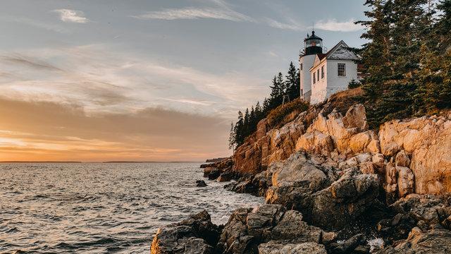Bass Harbor Head Light,Lighthouse