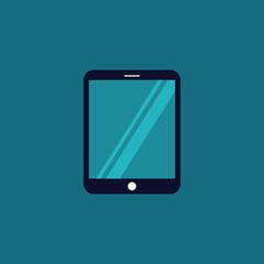 device icon. tablet icon modern on dark background EPS10