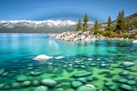 Lake Tahoe View at D.L. Bliss State Park