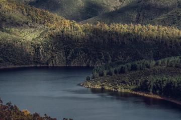 Spain, Extremadura, Las Hurdes, Caceres, river, meander