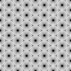 Seamless pattern based on japanese ornament Kumiko