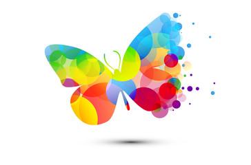 farfalla, fantasia, icona, simbolo, primavera, volare, libertà,