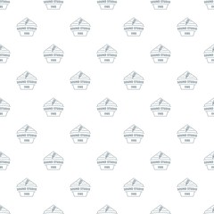 Sound studio pattern vector seamless repeat for any web design