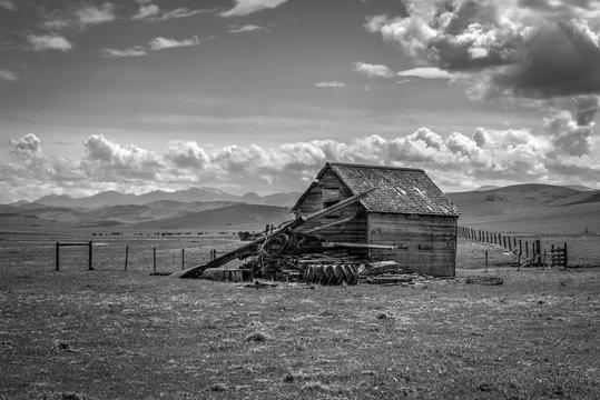Abandoned barn