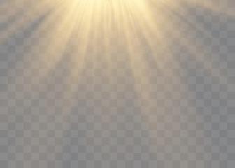 Vector transparent sunlight special lens flare light effect