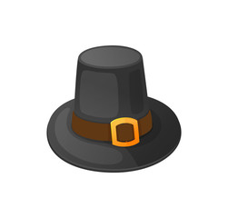 Holiday Clothing Thanksgiving Hat Icon Vector