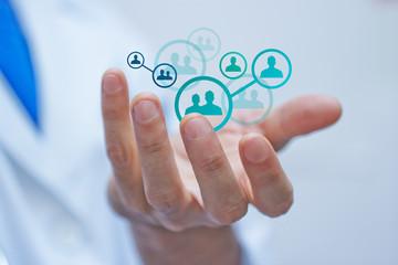 mano, palmo, clienti, utenti, pazienti, utente,