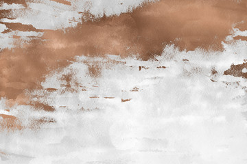 Modern contemporary creamy copper background. Luxury girlish texture. Delicious and clean backdrop with geometric and artistic elements.