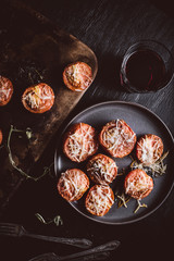 Rustic Melted Tomatoes