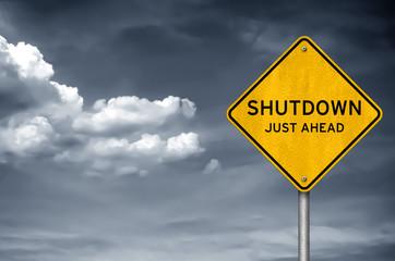 Government Shutdown - just ahead