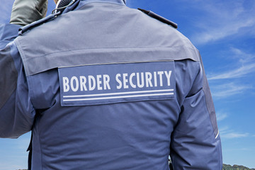 border protection, border security (symbol picture)