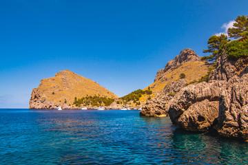 Seacoast of island Majorca. Near Cap de Formentor