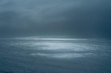 Ripples in the ocean