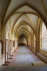 Vaults of Church of Presentation of the Blessed Virgin Mary in České Budějovice, South Bohemia, Czech republic