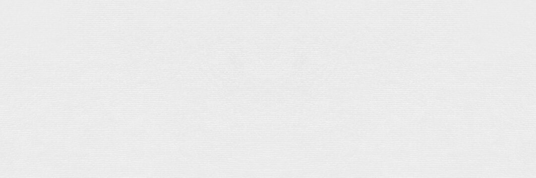panorama of Clean white paper texture. High resolution photo.