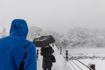 shirakawa go snow season japan