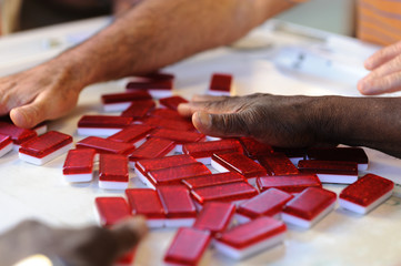 Playing with Dominoes