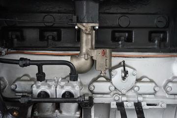 old car gas engine
