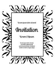 Can be used as greeting card or wedding invitation vector art