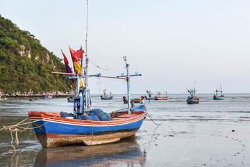 boats and sea.