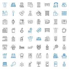 container icons set