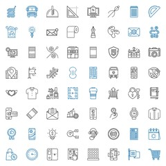 button icons set